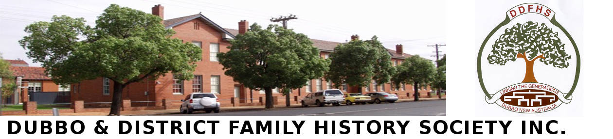 Dubbo & District Family History Society Inc.